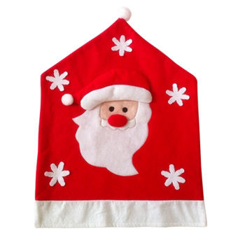 Santa Christmas Kitchen Chair Covers - INTL