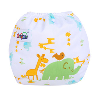 Sanwood® Baby's Reusable Washable Adjustable Cloth Diaper Style 8