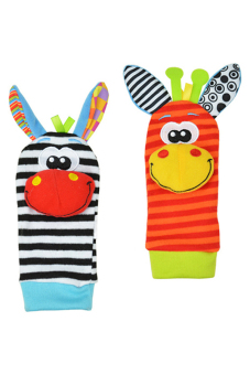 Sanwood® Infant Baby Rattles Toys Developmental Socks Random Color