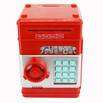 SeanSean Coins and Bills Bank Safe (Red) Price Philippines