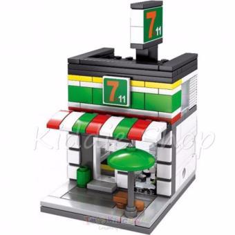 Sembo Block SD60194 7ELEVEN Shop Building Blocks Toy (177 PCSPARTICLES) - 2