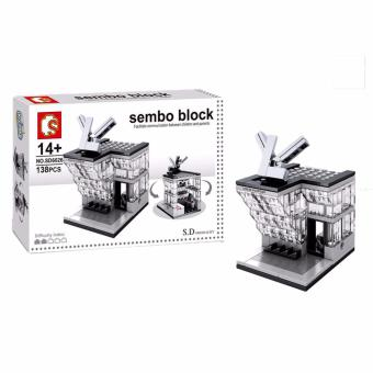 Sembo Block SD6026 LV Shop Building Blocks Toy
