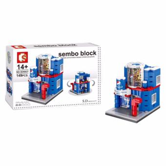 Sembo Block SD6027 Pepsi Shop Building Blocks Toy