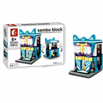 Sembo Block SD6040 Adidas Shop Building Blocks Toy