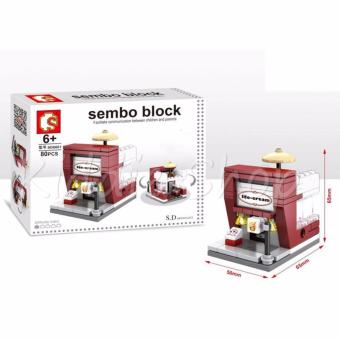 Sembo Building Block SD6601 - Ice Cream Shop Building Toy