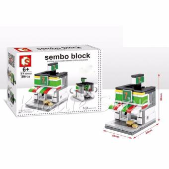 Sembo Building Block SD6604 7-11 Convenient Building Toy