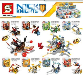 Senbao sy625 KNIGHT elemntal people with assembled building blocks