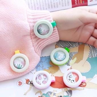 Set of 10 Child Mosquito Repellent Bracelet Stickers Baby PregnantAnti Mosquito Pest Control Buttons Mosquito killer (MultipleDesign) - 2