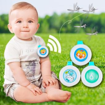 SET OF 5 Child Mosquito Repellent Bracelet Stickers Baby PregnantAnti Mosquito Pest Control Buttons Mosquito killer (MultipleDesign) - 2