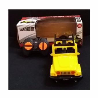 SHOP AND THRIFT 6138CX Super Racing Remote/Radio Control Toy car(Yellow)