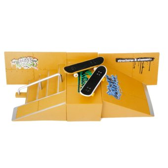 Skate Park Skatepark Ramp Parts For Tech Deck Finger Board #A