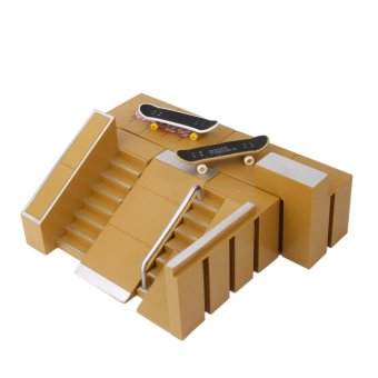 Skate Park Skatepark Ramp Parts For Tech Deck Finger Board #C - 2