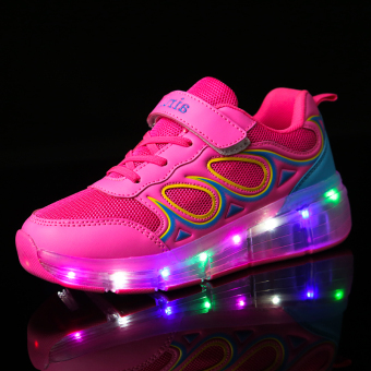 Skating Shoes led Faguangxie POZZO shoes
