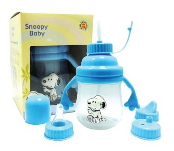 Snoopy 3D Interchangeable Training Cup - 2