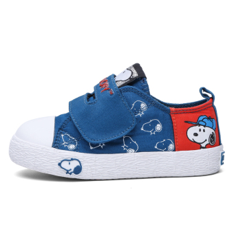 Snoopy boy's autumn New style children's canvas shoes children's shoes