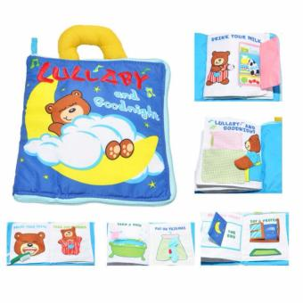 Soft Activity Books for Children Toddler Learning Story Book Life Education Sleep Books Baby Toys
