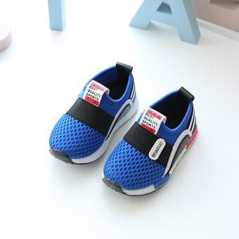 Soft bottom men breathable female children's shoes Baobao toddler shoes