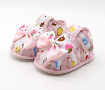 Soft bottom spring and summer toddler shoes sandals