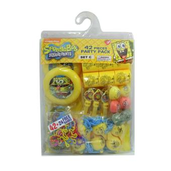 Spongebob SquarePants Party Pack Set C
