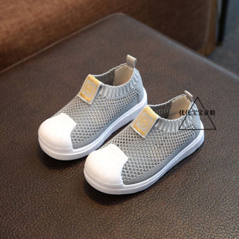 Spring and summer children girls breathable casual shoes mesh shoes