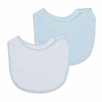 St Patrick baby side-snap bib cotton 2x