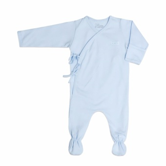 St Patrick baby Tie-Side Sleepsuit longsleeves footed frogsuit Newborn 0-3M