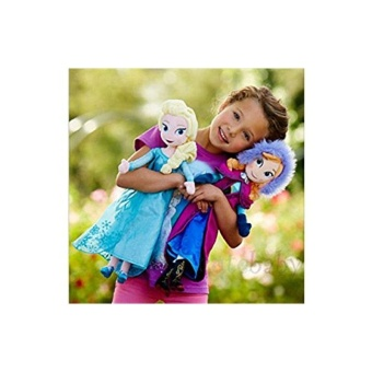 Star Mall Bees Clover Hot Elsa Anna Princess Stuffed Soft Plush Toy Doll for Girls 2pcs 40cm Elsa Anna - intl Price Philippines