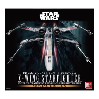 Star Wars X-Wing Starfighter Moving Edition 1/48
