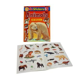 Sticker and Activity Book, Set of 3 with Free Color Clone ABC Book - 4