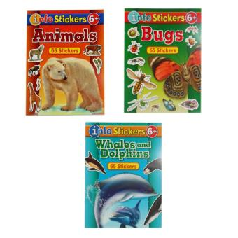Sticker and Activity Book, Set of 3 with Free Color Clone ABC Book - 2