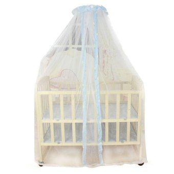 Summer Baby Bed Mosquito Mesh Dome Curtain Net for Toddler Crib CotCanopy - intl - 3
