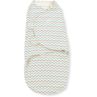 Summer Infant Swaddle Me Grey Teal Chevron (0-3 months, SMALL)