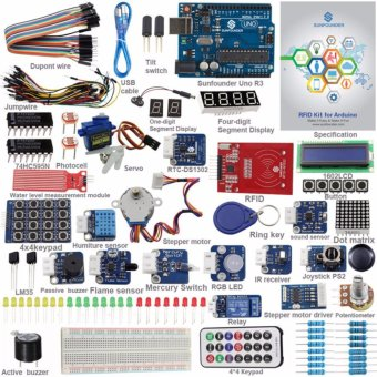 SunFounder UNO R3 Kit Upgraded Version RFID Learning Kit V2.0 forArduino - intl Price Philippines