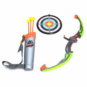 Super Archery Toys With Lighting Arch NO.881-24A (Multicolor) Price Philippines