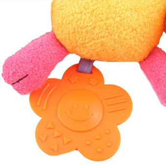Super Soft Multifunctional Baby Car Bed Crib Hangings Animal Plush Toy