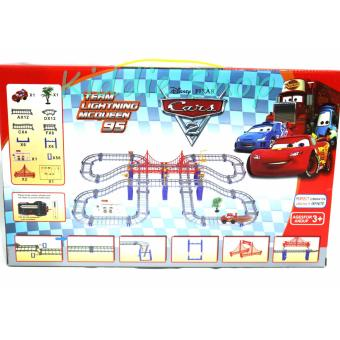 Super Track Cars Mcqueen 95 Rail Train Toy Set For Children Price Philippines