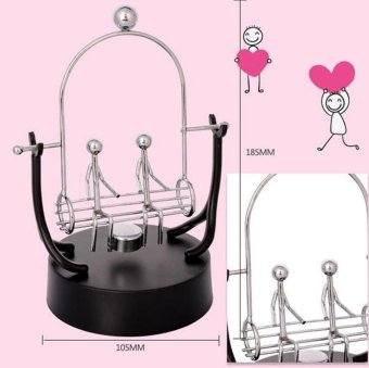 Swing Lover Perpetual Motion Electromagnetic Pendulum Desktop DecorToy Creative Gift Home Crafts - intl - 2