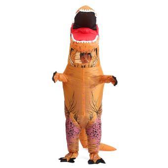 T-Rex DINOSAUR Inflatable Adult Costume TRex Costumes Halloween Party Dress - intl - 3