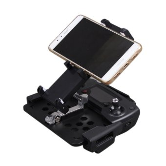 Tablet Bracket Phone Holder Foldable for DJI Mavic Pro PhantomDrone Quacopter Black - intl - 5
