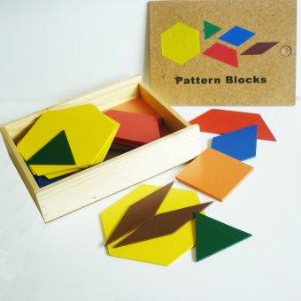 Tahanang Walang Hagdanan Pattern Blocks (Multicolor)