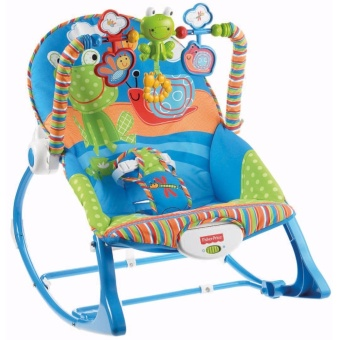 Talita Fisher Price To Toddler Infant Rocking Chair (Blue)