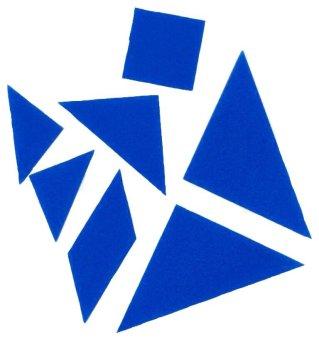Tangrams Set (Blue)