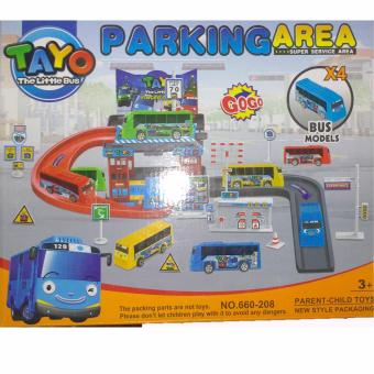 Tayo The Little Bus Parking Area 660-208 Toy Set Price Philippines