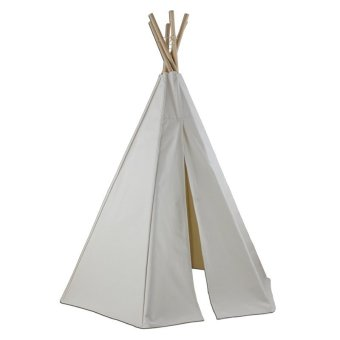 TeePee Toddler Tent (White)