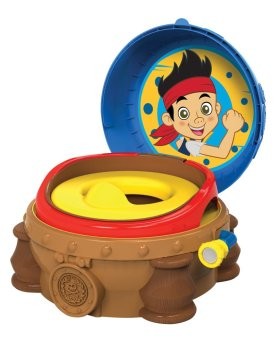 The First Years Jake & The Neverland Pirates 3 in 1 Potty System