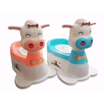 The House Baby Toddler Trainer Potty Toilet Seat With Music
