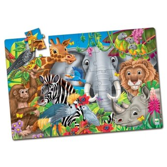 THE LEARNING JOURNEY Puzzle Doubles Fun Facts Animals of the World - picture 2