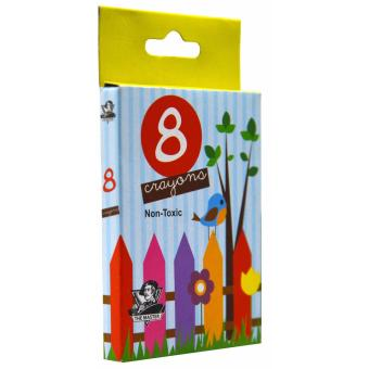 THE MASTER Crayons 8 Colors (20 Sets) - 2