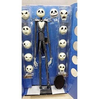 The Nightmare Before Christmas Jack Skellington 15″ Figure 12 Skull Heads Doll - intl