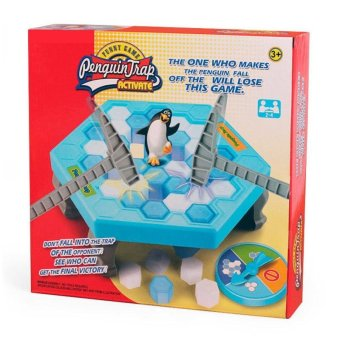 The Penguin Ice Breaking Great Family Funny Desktop Game Kid ToyGifts Who Make The Penguin Fall Off Lose This Game - intl